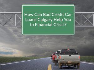 bad credit car loans Calgary